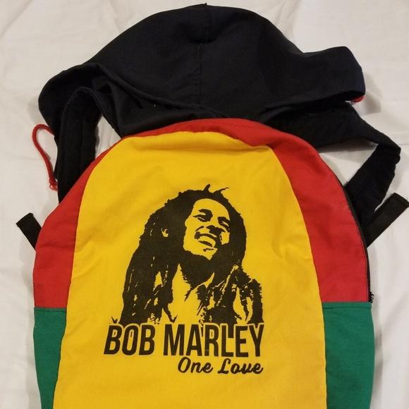 e35a627ae Bob Marley One Love Reggae Backpack Bookbag